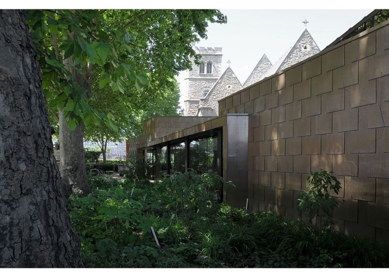arquitectura_Dow Jones Architects_Garden Museum 2_exterior
