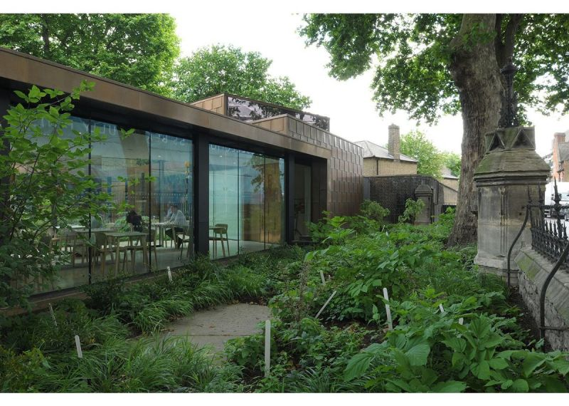 arquitectura_Dow Jones Architects_Garden Museum 2_banda verde
