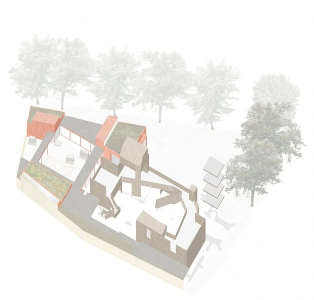arquitectura_Dow Jones Architects_Garden Museum 2_maqueta virtual