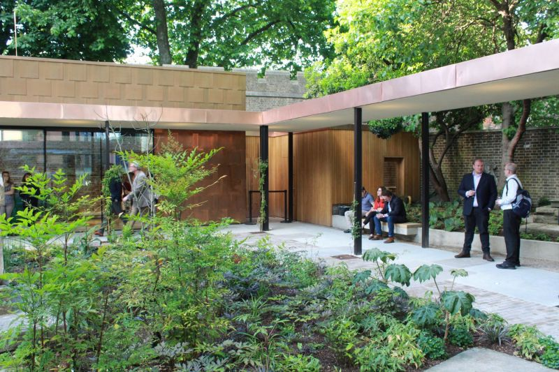 arquitectura_Dow Jones Architects_Garden Museum 2_patio