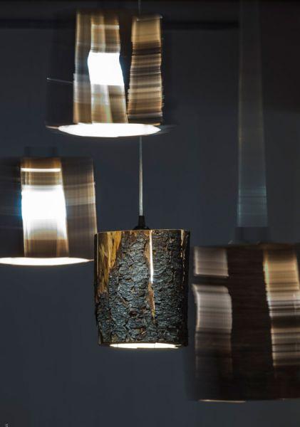 Arquitectura e iluminación_Duncan Meerding_Cracked Log Pendant Lamp