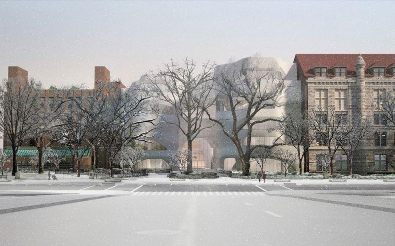 arquitectura Centro Richard Gilder para Ciencia, Educación e Innovación  Manhattan, Nueva York, Estados Unidos Studio Gang exterior