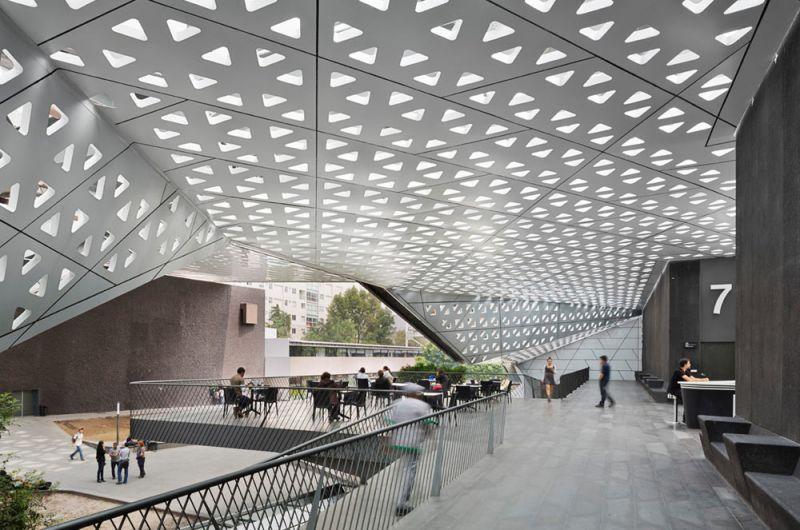 arquitectura Cineteca Nacional Siglo XXI  Ciudad de México, México Rojkind Arquitectos interior