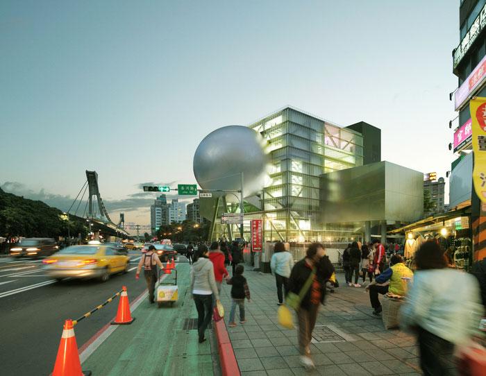 arquitectura  Centro de Artes Escénicas de Taipei  Taipei, Taiwán OMA