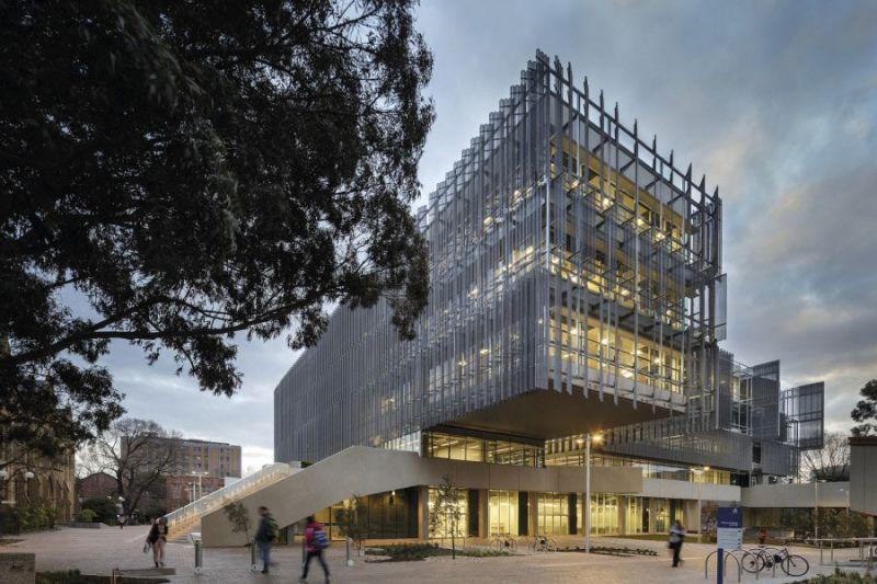 arquitectura Universidad de Melbourne  Melbourne, Australia John Wardle Architects & NADAAA exterior