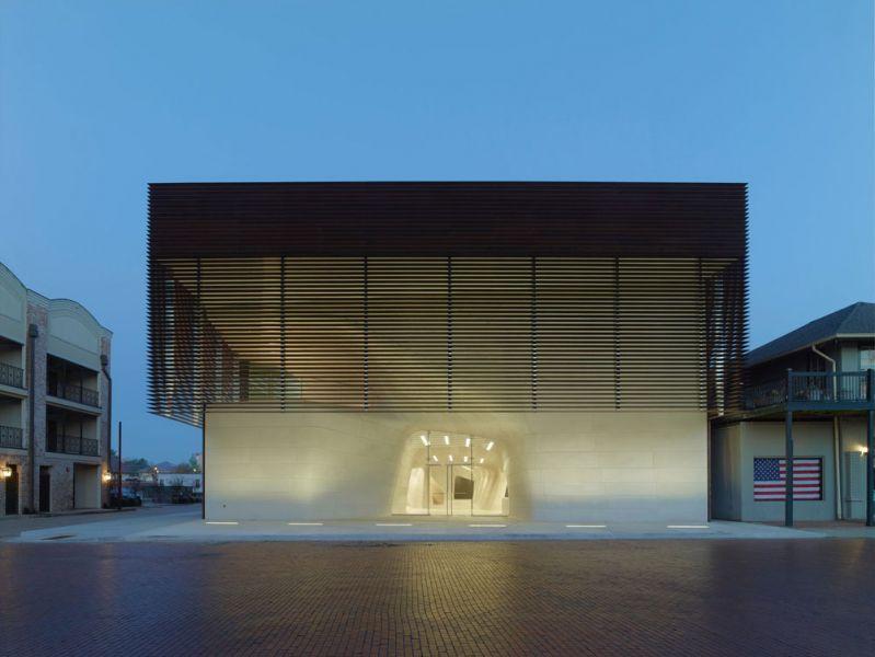 arquitectura Museo de Louisiana y Salón de la Fama del Deporte LA, Estados Unidos Trahan Architects