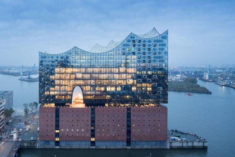 arquitectura Elfphilharmonie  Hamburgo, Alemania Herzog & de Meuron exterior