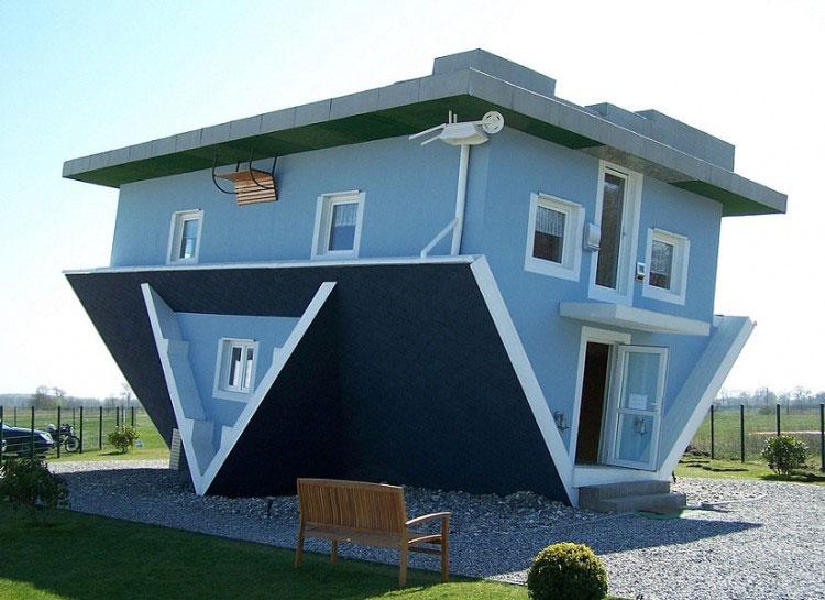arquitectura exclusiva El mundo al revés