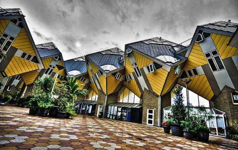 arquitectura exclusiva Kubuswoning