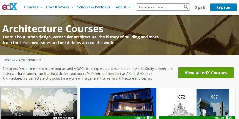 arquitectura, arquitecto, diseño, design, diseñador, cursos, máster, on-line, gartis, gratuito, Harvard, MIT, arquitectura japonesa, urbanismo, EDX