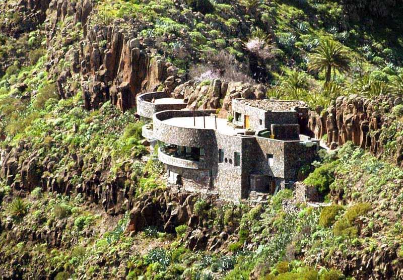 Arquitectura_El mirador-de-palmarejo_Cesar Manrique_  desde los bancales