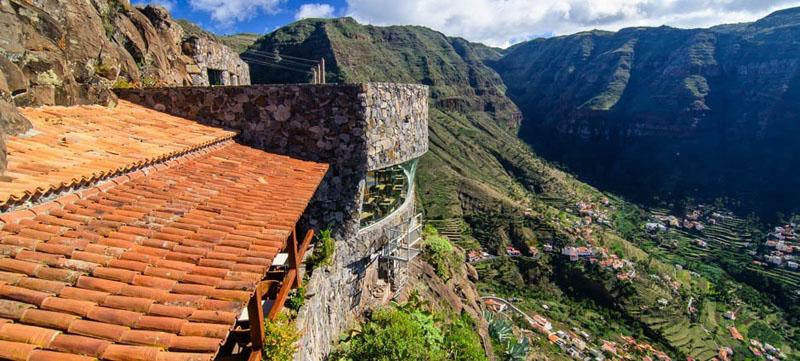 Arquitectura_El mirador-de-palmarejo_cesar -manrique _vista de cubierta teja