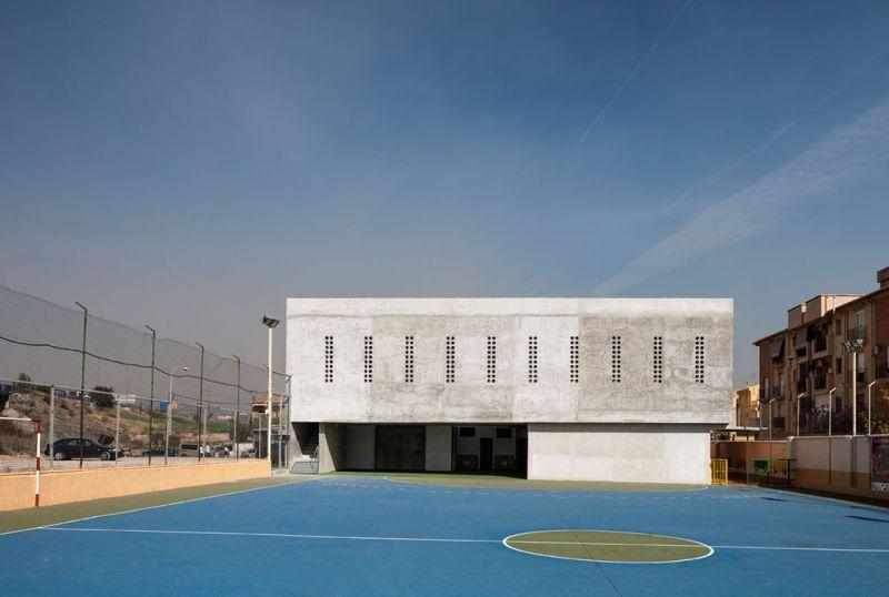 arquitectura_Elisa Valero_escuela Cerillo_fachada