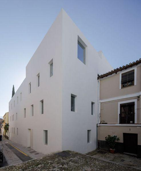 arquitectura_Elisa Valero_viviendas Realejo_fachada