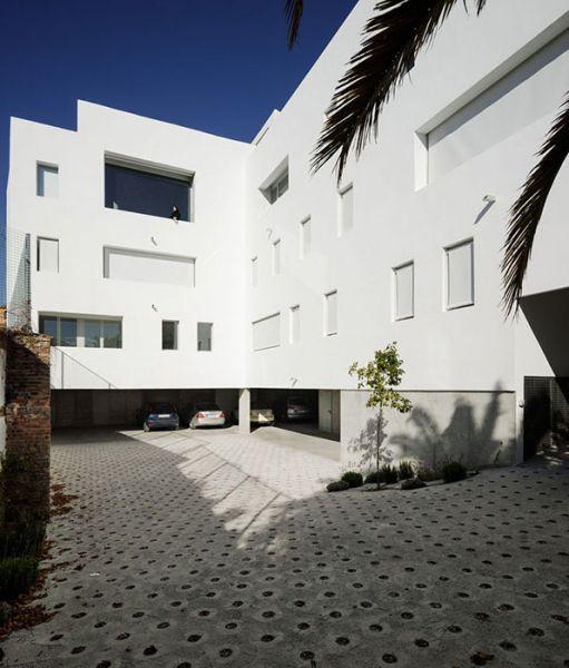 arquitectura_Elisa Valero_viviendas Realejo_fachada int
