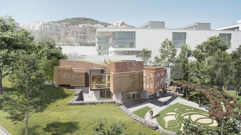 arquitectura pabellon kalida embt arquitectos render