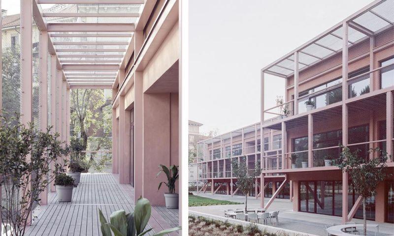 Imágenes de la nueva estructura anexionada al edificio