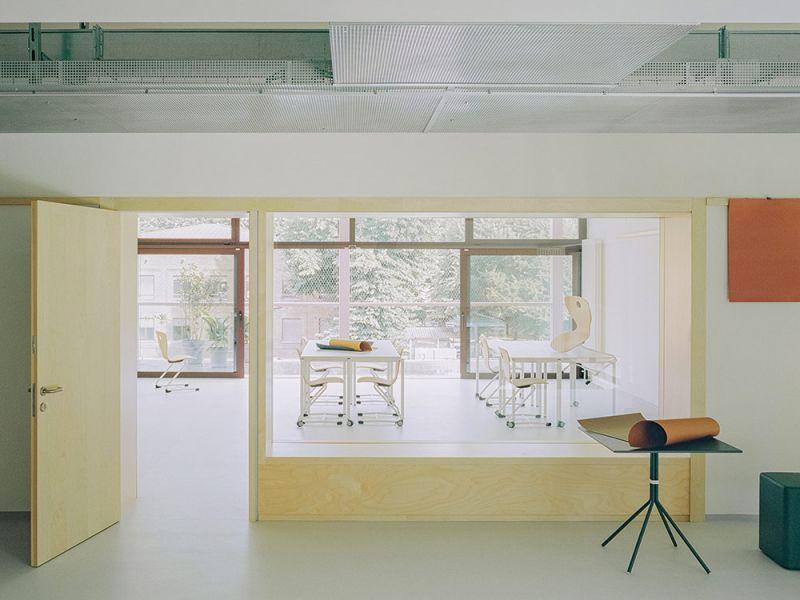 Imagen del interior de una clase