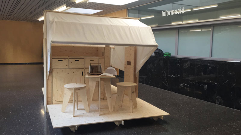 En ruta, un gadget para habitar Concurso estudiantes Taller 2 ETSA arquitecturayempresa foto 01