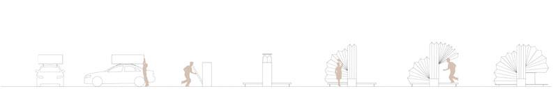 En ruta, un gadget para habitar Concurso estudiantes Taller 2 ETSA arquitecturayempresa secciones