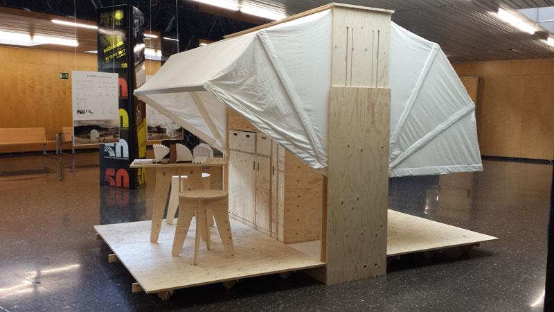 En ruta, un gadget para habitar Concurso estudiantes Taller 2 ETSA arquitecturayempresa foto 02