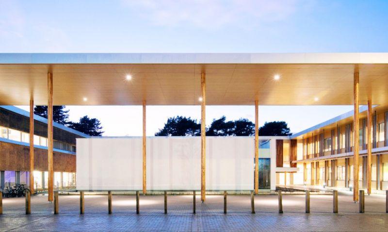 arquitectura_Enterprise Centre_patio central