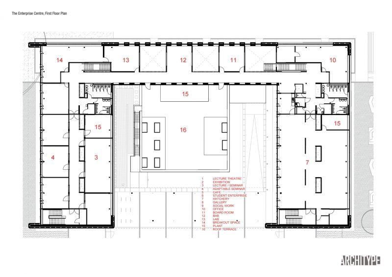 arquitectura_Enterprise Centre_planta 1