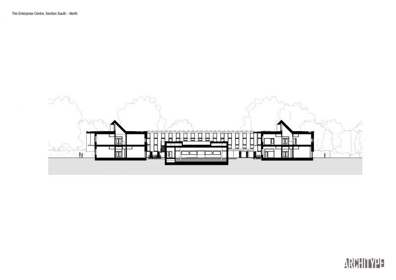 arquitectura_Enterprise Centre_sección
