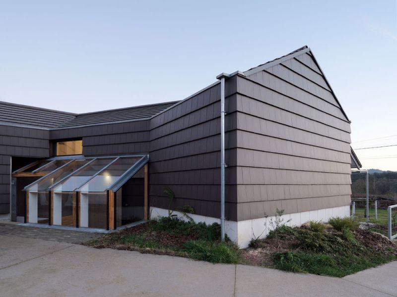 arquitectura entrevista arrokabe arquitectos casa cachons passivhaus  vista exterior fachada