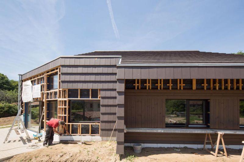 arquitectura entrevista arrokabe arquitectos casa cachons passivhaus proceso constructivo fachada