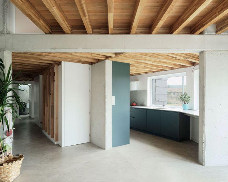 arquitectura entrevista arrokabe arquitectos casa cachons passivhaus cocina