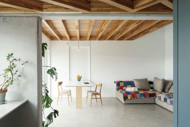 arquitectura entrevista arrokabe arquitectos casa cachons passivhaus estar comedor