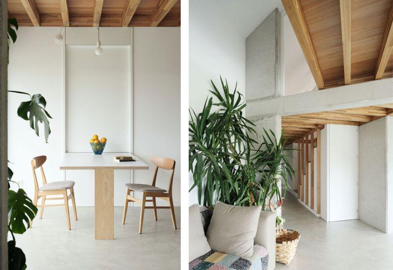 arquitectura entrevista arrokabe arquitectos casa cachons passivhaus detalle mesa sofa