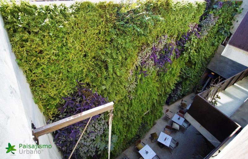 arquitectura jardin vertical paisajismo urbano hotel kook alberro arquitectos