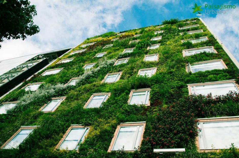 arquitectura jardin vertical paisajismo urbano Hotel Gaia B3 colombia groncol