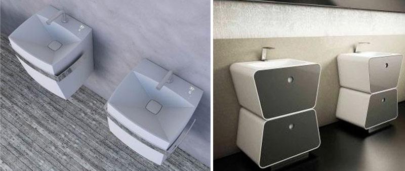 arquitectura, equa, hi-tech, grifería, touch screen, táctil, lavabo, diseño