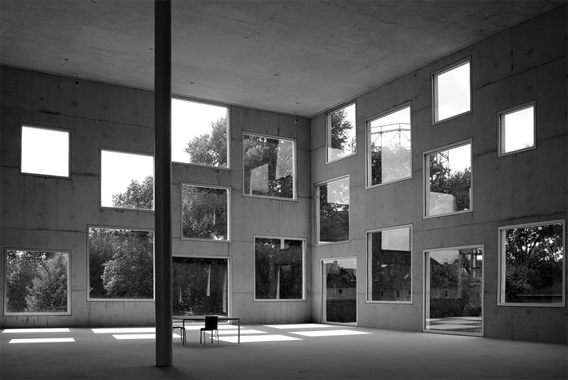 Arquitectura escuela de Diseño Zollverein en Essen, Alemania