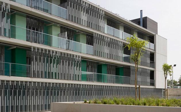 arquitectura_espinet-ubach_viviendas jóvenes_fachada