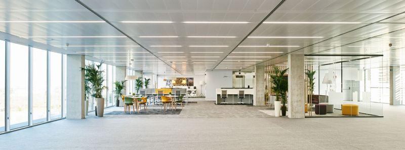 arquitectura estudio lamela arquitectos discovery building exterior interior oficinas