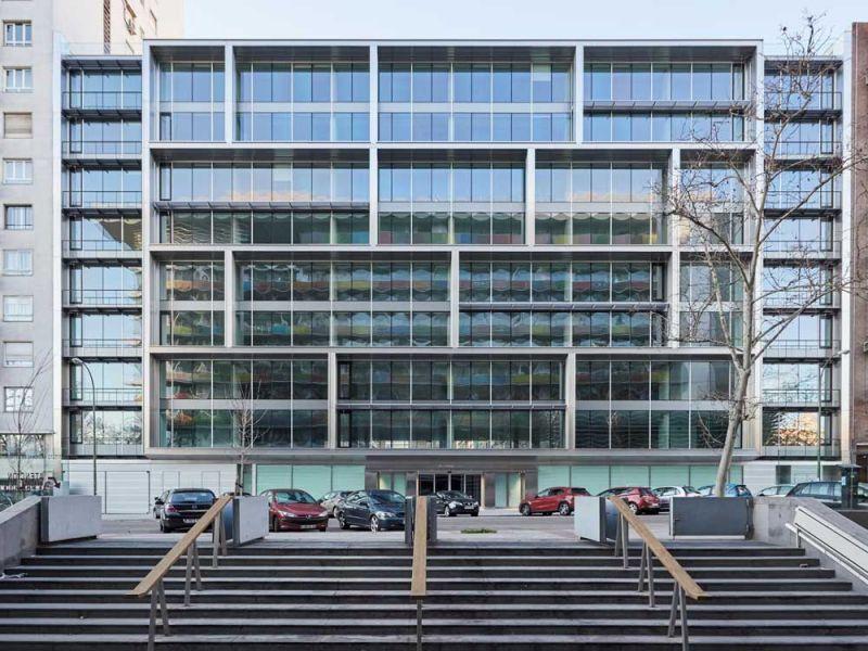 arquitectura estudio lamela arquitectos discovery building exterior fachada