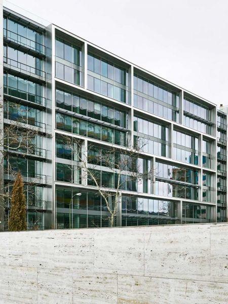 arquitectura estudio lamela arquitectos discovery building exterior