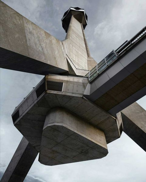 arquitectura valentin jeck exposicion moma toward a concrete utopia Torre de Televisión Avala 1965