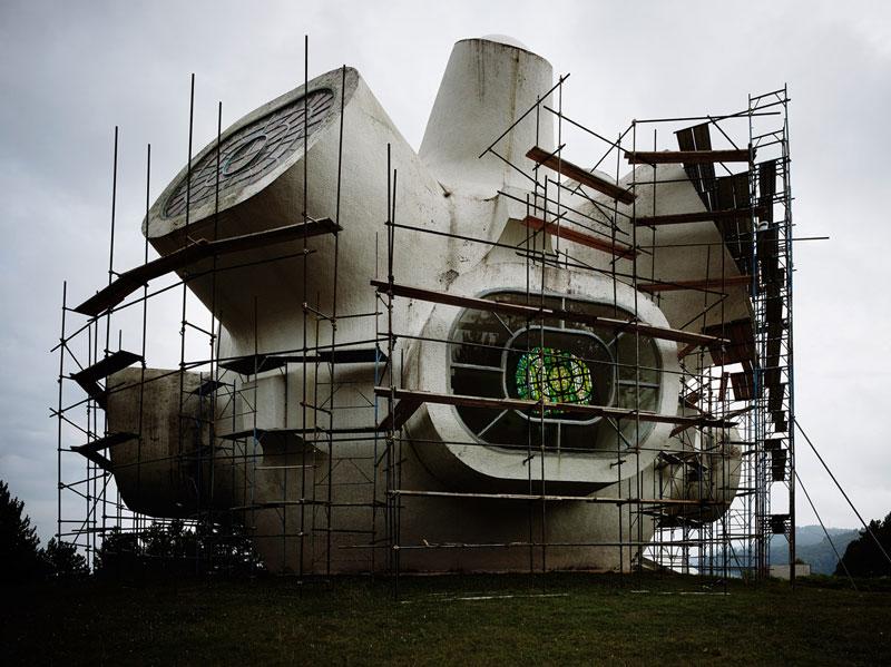 arquitectura valentin jeck exposicion moma toward a concrete utopia 1970-73 Jordania e Iskra Grabul. Monumento a la sublevación de Ilinden en Kruševo