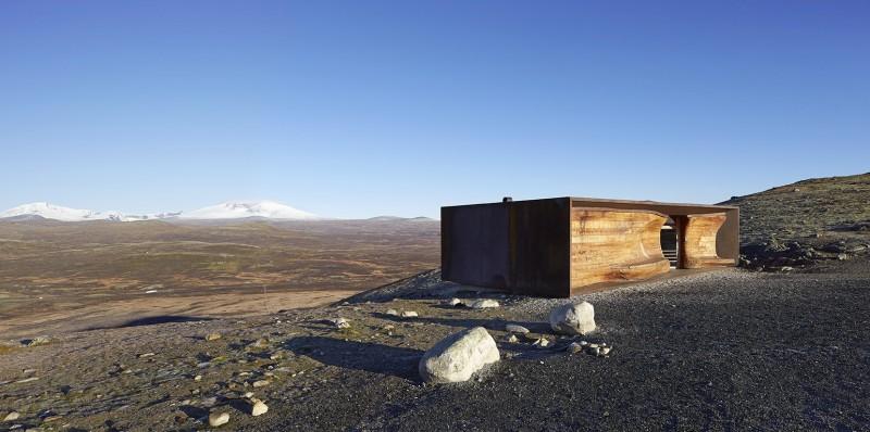 arquitectura extrema Noruega_fachada madera