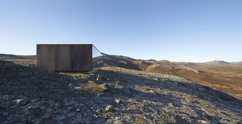 arquitectura extrema Noruega_fachada muro cortina