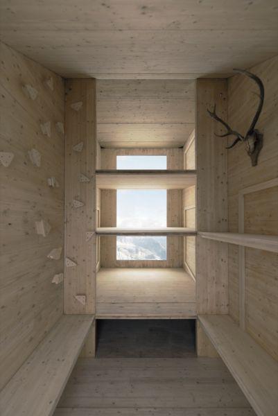 arquitectura extrema_refugio Kanin interior