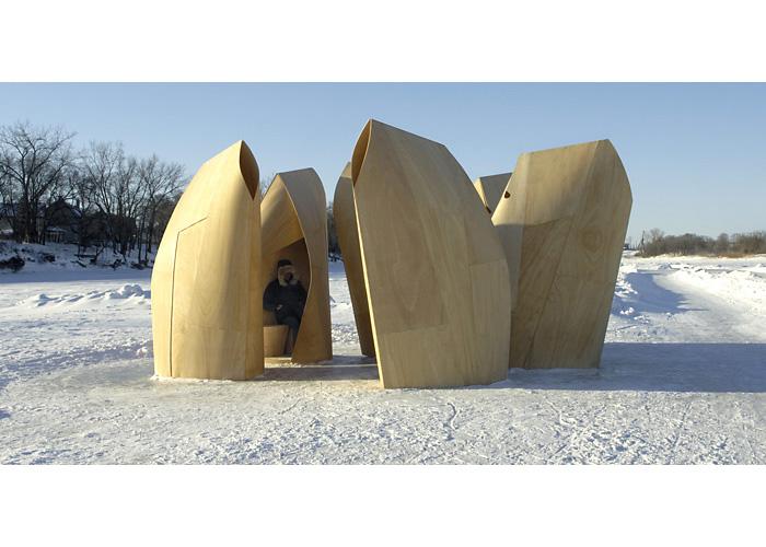 arquitectura extrema_refugio patinadores winnipeg
