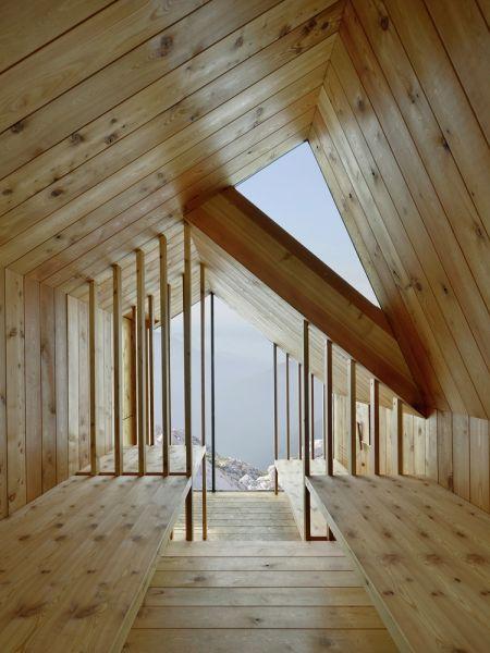 arquitectura extrema_refugio skuta interior