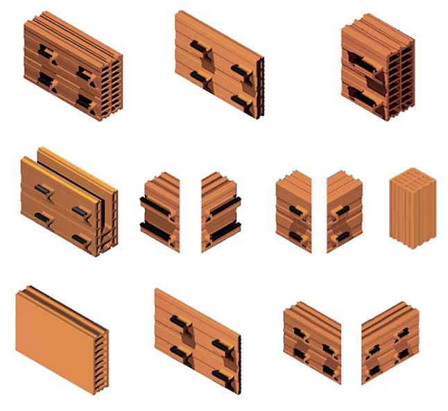 arquitectura_fachada ventilada sierravent_tipos de piezas