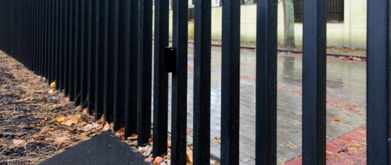 Fancy fence cercas bajo tierra arquitectura - Vallas y cierres ...
